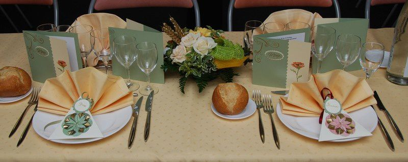 Decoration de table 50 ans mariage - Decoration de table anniversaire 60 ans ...